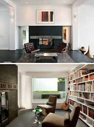 skb architects updated this early 1990s home with a gallery like