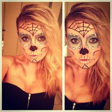 halloween sugar candy skull day of the dead makeup halloween