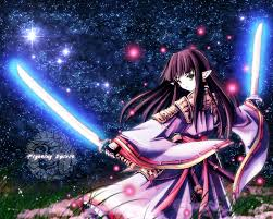 anime wallpapers girls sword fighting women wallpaper and background image 1280x1024 id 48355