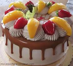 132 cakes fruit berries images cakes