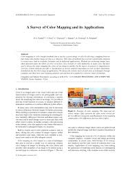 a survey of color mapping and its applications pdf download a survey of color mapping and its applications pdf download available