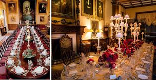 Highclere Castle Dining Room - Castle dining room