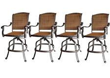 Bar Stool Patio Furniture Outdoor Swivel Bar Stools Ebay