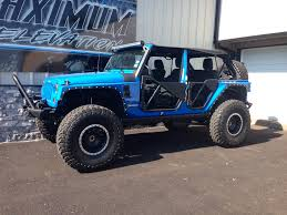 jeep sahara 2016 blue jeep wrangler unlimited lifted blue image 336