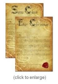 letter from father christmas father christmas post letter from