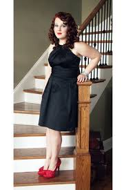 romantic u0026 most adorable full black dressing with red pumps
