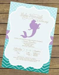 mermaid baby shower mermaid baby shower invitation mermaid baby shower