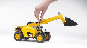 bruder excavator bruder caterpillar plastic toy telehandler 02141 catmodels com