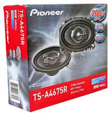 pioneer 4x6 pioneer ts a4675r 4 x 6 3 way speakers walmart