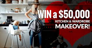 How To Win A Kitchen Makeover - win a 50 000 kitchen and wardrobe makeover competition