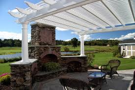 Pergola Off House by The Decksperts Pergolas Outdoor Living Spaces Western Ma