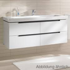 Villeroy And Boch Subway Vanity Unit Villeroy U0026 Boch Subway 2 0 Xl Vanity Unit With 4 Pull Out
