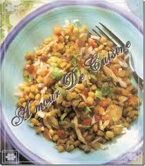 lentille cuisine salade au thon et lentilles amour de cuisine