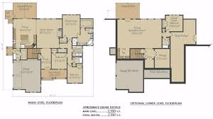 ranch home plans with basements ranch house plans daylight basement house plans sloping lot