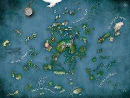Map Of Avatar Last Airbender World by The Wertzone A History Of Epic Fantasy Part 12