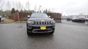 2017 jeep grand cherokee limited 4x4 diamond black crystal