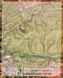 Virginia Tech Parking Map by Fishburn Forest Maps Vt Forestry Department