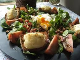 cuisine berrichonne salade berrichonne au crottin de chavignol cuisine cagne