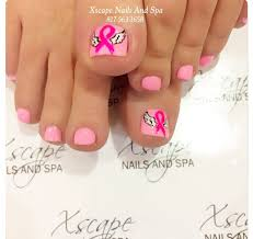 breast cancer awareness nail designs cute nails designs