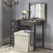 Makeup Vanity Jewelry Armoire Black Mirrored Jewelry Cabinet Armoire W Stand Mirror Rings