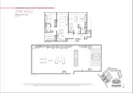 floor plan key penthouse 3 bed dual key flamingo valley