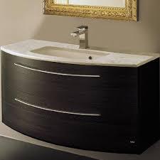 25 Inch Vanity The Serif Designer Bathroom Furniture Roper Rhodes Curved Vanity
