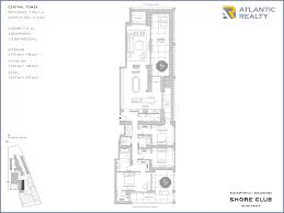 the shore floor plan fasano residences at shore club new miami florida beach homes
