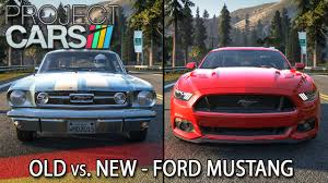 old ford cars old vs new ford mustang project cars hd ger california
