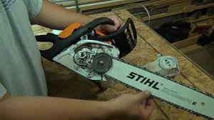 stihl ms 211c chainsaw brief overview and start up youtube
