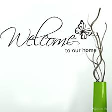 wall ideas welcome to our home wall decor metal welcome signs