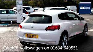 2011 volkswagen scirocco gt 2l white metallic da11ayd for sale at