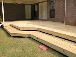 how to build a wrap around porch flat deck with wrap around steps3 rl fence u0026 decks