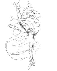 ballet dancer outline stock photo tatssss pinterest ballet