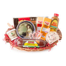 summer sausage gift basket party favorites gourmet summer sausage and cheese gift