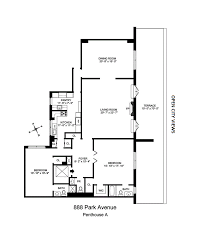Updown Court Floor Plan by 888 Park Ave Pha Upper East Side New York Realdirect