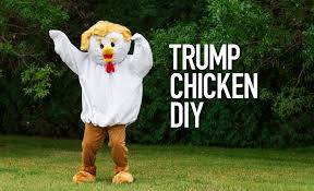 Halloween Costumes Coupons Printable by Trump Chicken Diy Halloween Costume Halloween Costumes Blog