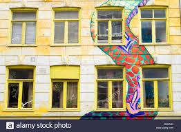amsterdam painted dragon wall murals on a squat bar called the amsterdam painted dragon wall murals on a squat bar called the vrankrijk in spui straat street windows