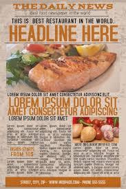 21 best free restaurant flyer templates images on pinterest