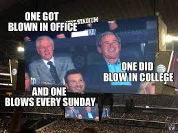 nfl memes on twitter bill clinton george bush and tony romo on