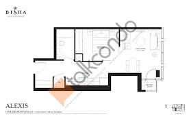 Alexis Condo Floor Plan Bisha Hotel U0026 Residences Condos Talkcondo