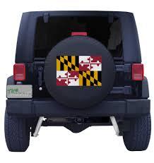 Maryland Flag Vinyl Maryland State Flag Tire Cover