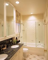 folding shower doors bathroom traditional with apartment bathtub