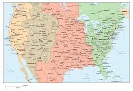 united states map with state names and time zones time zones america time zones