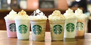 starbucks thanksgiving day starbucks unveils 6 new frappuccino flavors but they u0027re not all