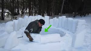 how to build an igloo 14 steps with pictures wikihow