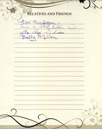 guestbook for funeral funeral guestbook