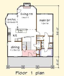 Floor Plan Abbreviations by Craftsman Style House Plan 3 Beds 2 50 Baths 1901 Sq Ft Plan 79 280