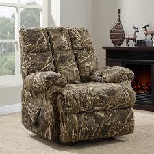 furniture mossy oak recliner camo recliners at walmart