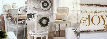 the french flea white christmas decorating ideas pinterest board