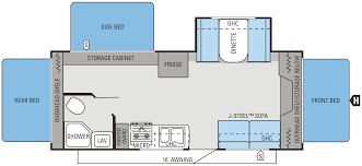 2014 jay feather ultra lite x23f floorplan camper ideas